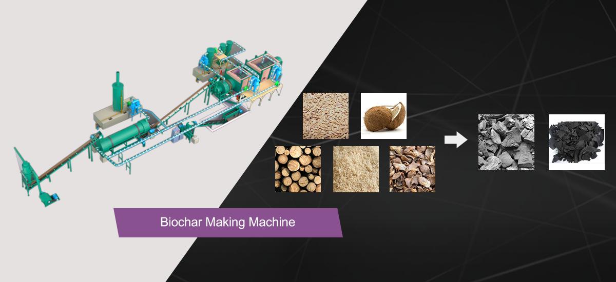 Biochar Pyrolysis Machines